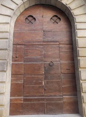 Portone prima del restauro