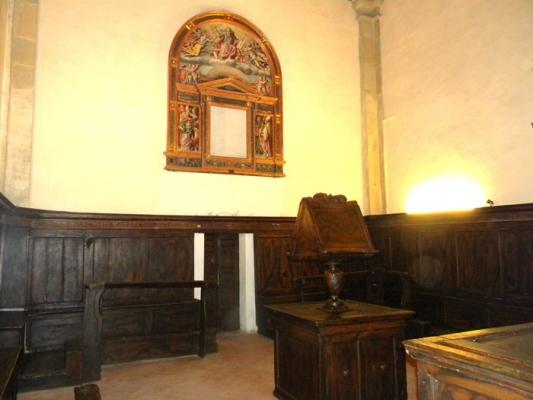 Lucignano Chiesa S.Maria delle Querce. Giorgio Vasari