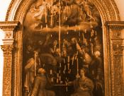 """""""Incoronazione della Vergine"""", Raffaellino Del Colle"""